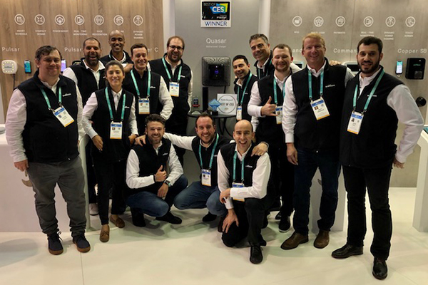 Wallbox wins four major awards at the Consumer Electronics Show in Las Vegas, USA