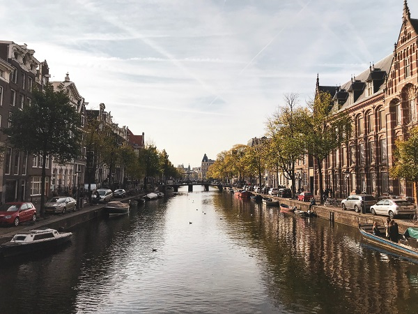 amsterdam canal - netherlands - ev charger incentives guide - wallbox