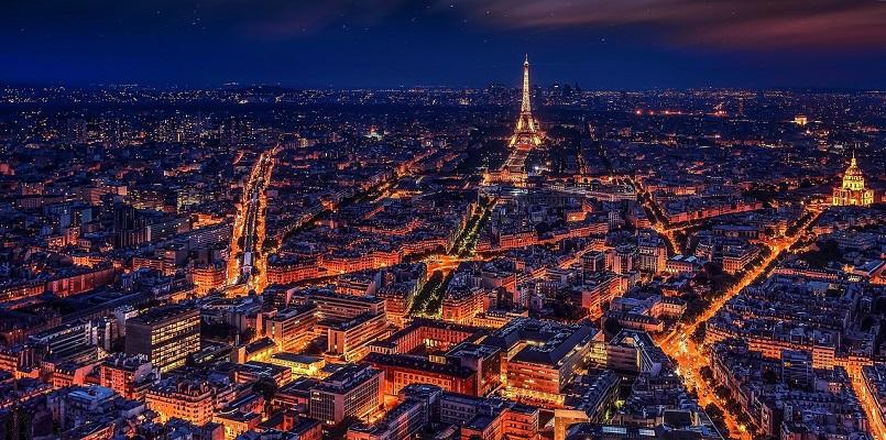 paris at night lights - france - ev charger incentives guide - wallbox