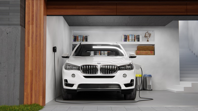 bmw x5 phev - residential charger - wallbox