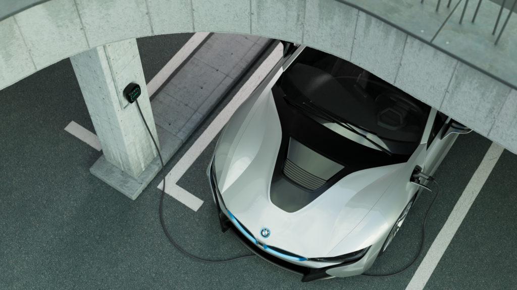 ev technology car parks