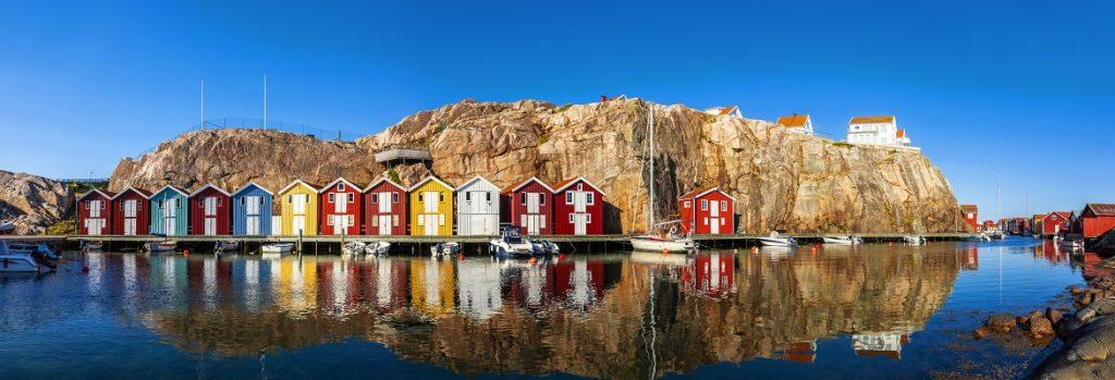 sweden boat houses