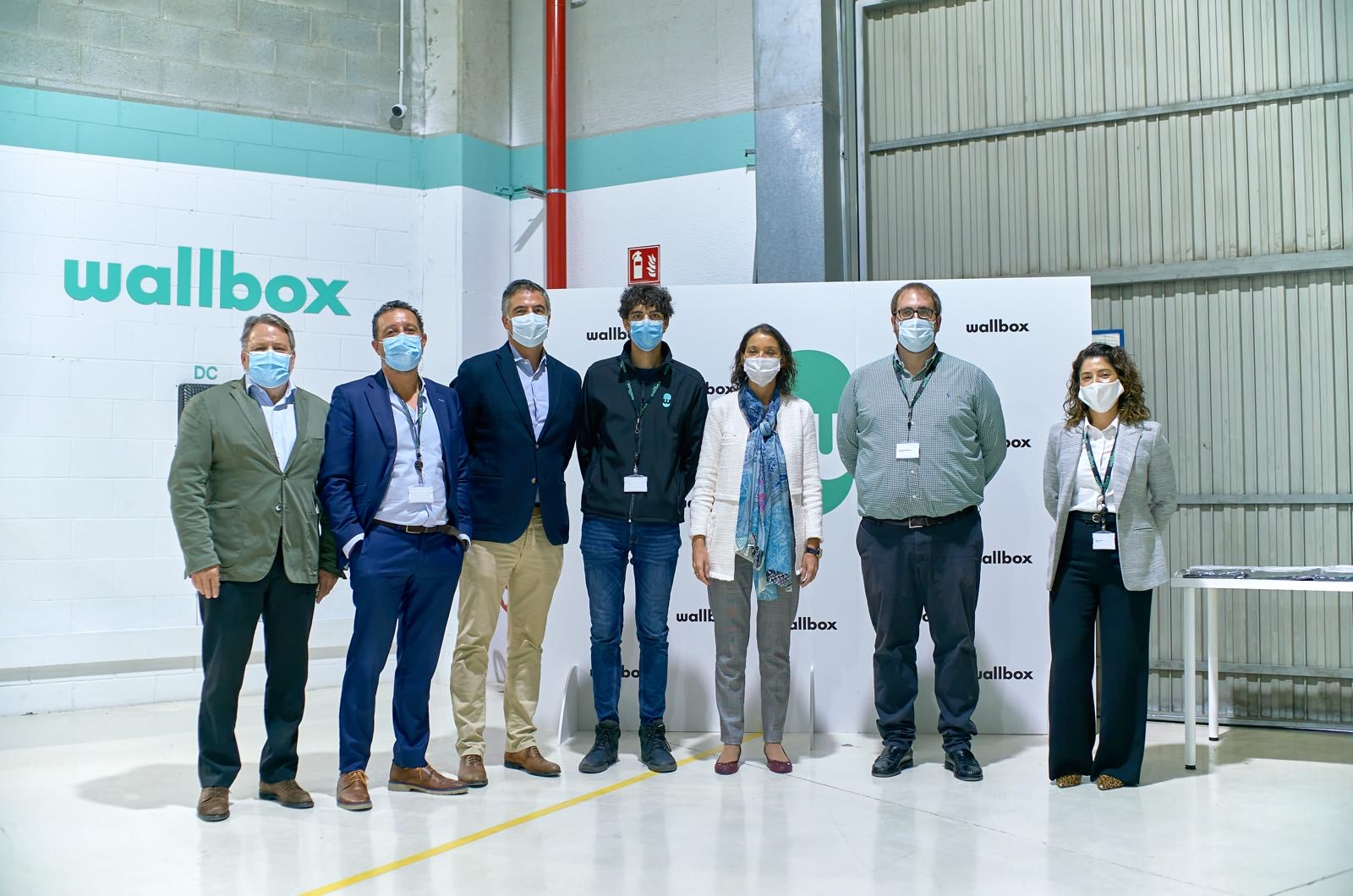 Spain's Minister of Industry, Trade and Tourism visits Wallbox
