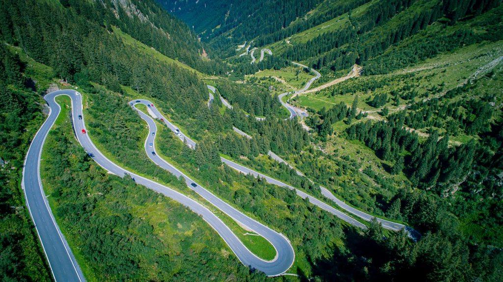austria mountains evs