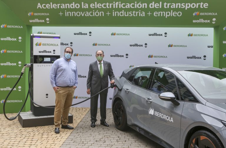 Iberdrola acquires the first 1,000 Supernova fast chargers from Wallbox